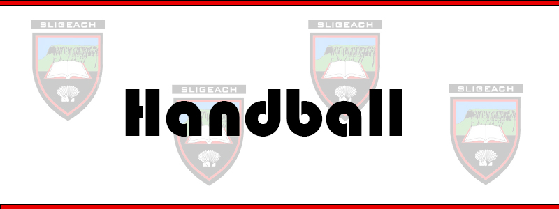 Sligo Handball notes