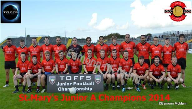 St.Mary's-Toffs Junior A Champions