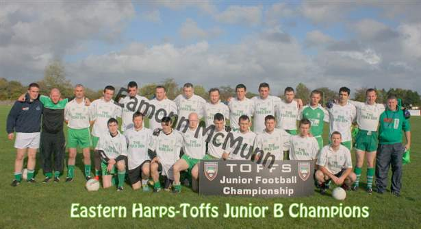 Eastern Harps Junior B Champions