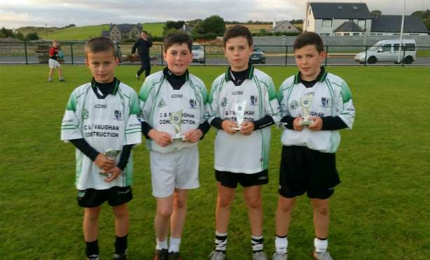 U12 Skills Competition Winners St. Molaise Gaels