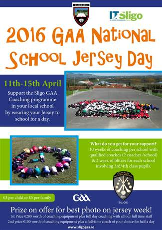 National School Jersey Day 2016