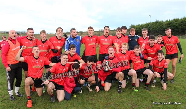 St. Mary's U21 A Football Champions