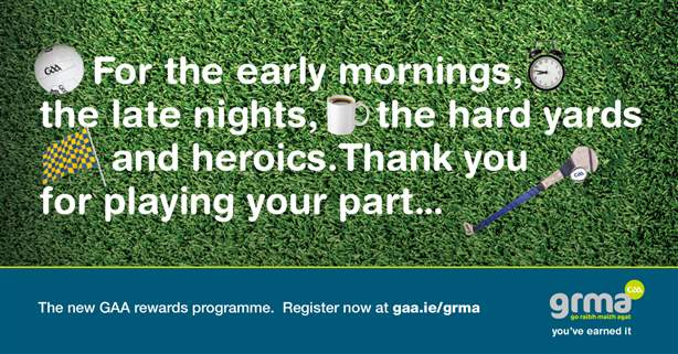 See www.gaa.ie for details