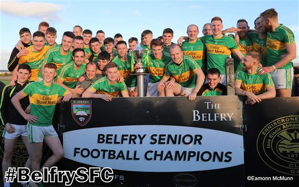 Tourlestrane Senior Football Champions