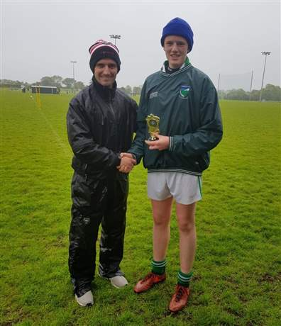 U14 Football Skills winner- Eoin Frain