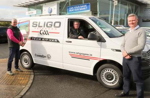 Connollys VW renew sponsorship of SligoGAA Kit Va