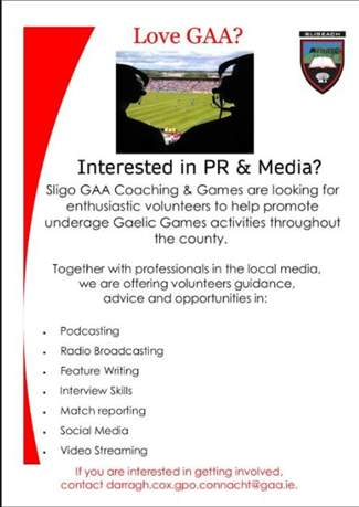 Interested in PR  Media - Contact Darragh